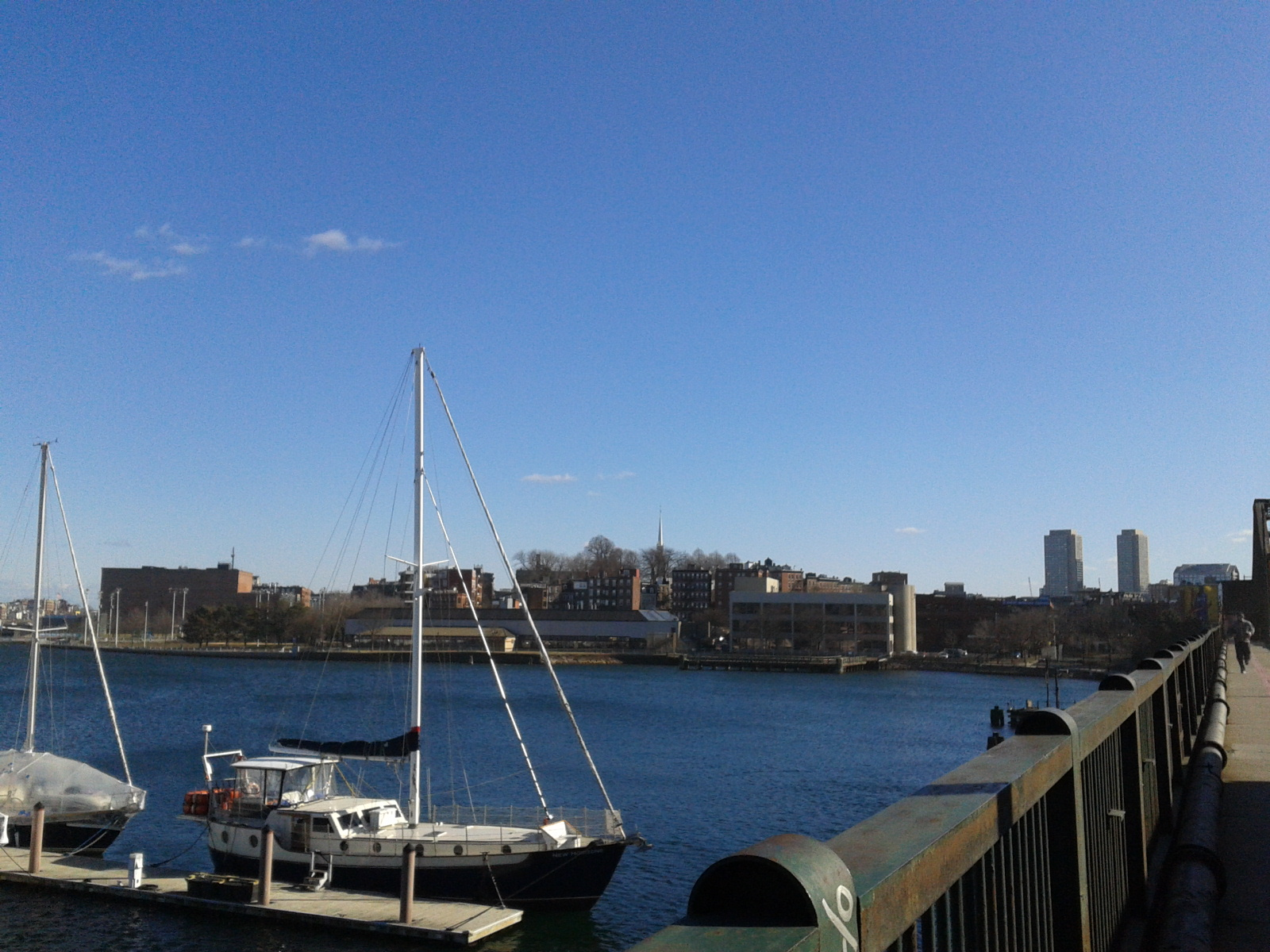 View over the Charles River