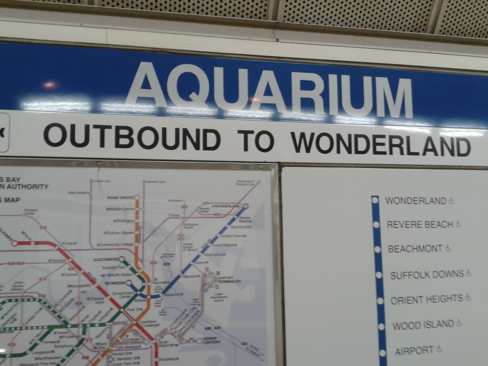 Want to go to Wonderland? No problem in Boston!