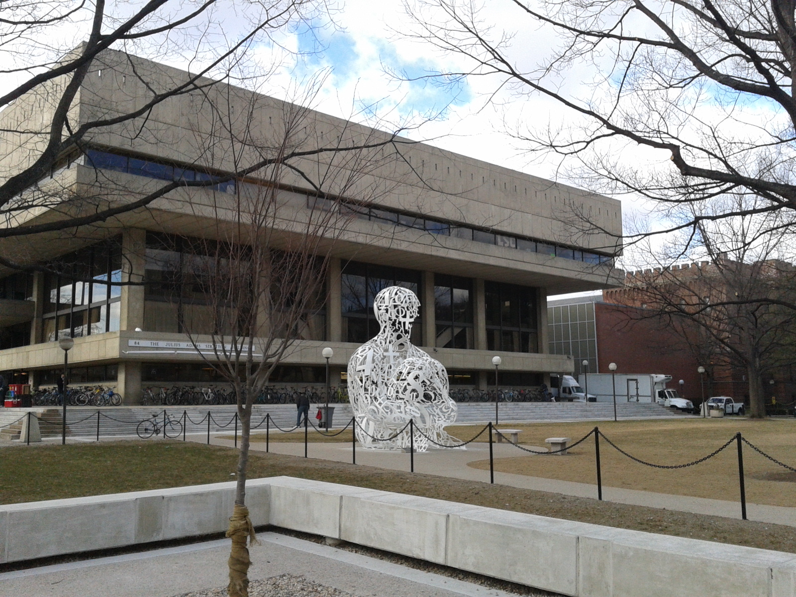 MIT guided tour: art is everywhere.