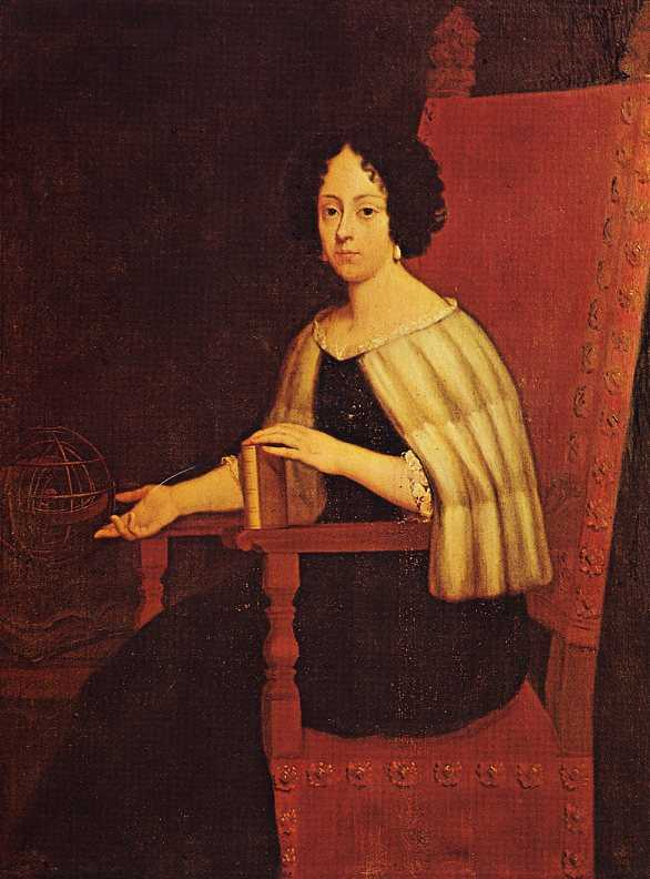 Portrait of Elena Piscopia. Source: Wikipedia